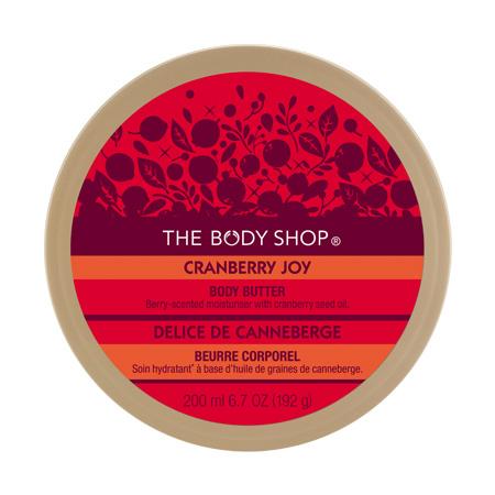 """Масло для тела """"Бодрящая Клюква"""" от The Body Shop"""
