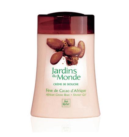 "Гель для Душа LES JARDINS DU MONDE  ""Африканское Какао""  от Yves Rocher"