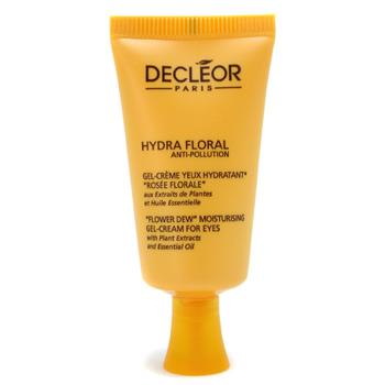Увлажняющий крем-гель для кожи вокруг глаз Hydra Floral Anti-Pollution Flower Dew от Decleor