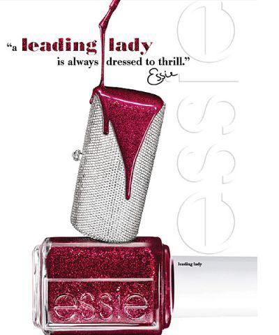 Лак для ногтей из коллекции Winter 2012 (оттенок № 815 Leading Lady) от Essie