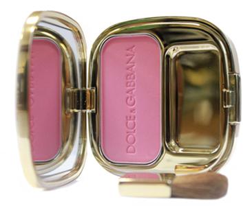 Румяна The Blush Luminous Cheek Colour (оттенки № 40 Provocative и № 38 Mauve Diamond) от Dolce & Gabbana