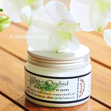 """Увлажняющий и тонизирующий крем для лица и шеи """"Белая орхидея"""" от Lemongrass House"""