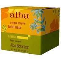 Энзимная маска для лица с папайей от Alba Botanica
