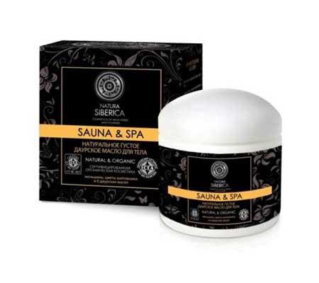 Натуральное густое сибирское масло для ног Sauna & SPA от Natura Siberica