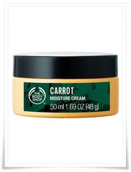 Морковный крем для лица от The Body Shop