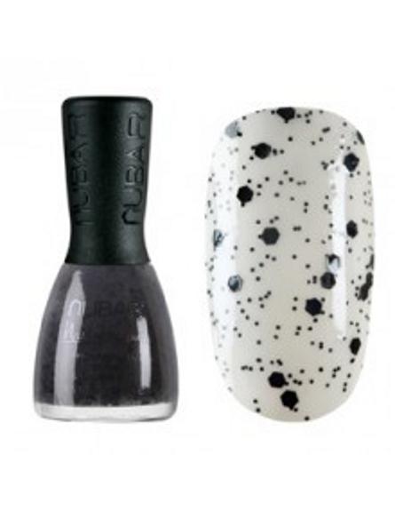 Лак для ногтей (оттенок G715 Black Polka Dot) от Nubar