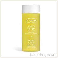 Тонизирующий лосьон с ромашкой для нормальной/сухой кожи Toning Lotion With Camomile от Clarins