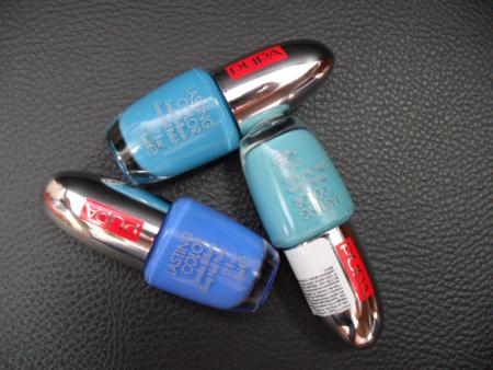 Блестящий лак для ногтей из летней коллекции 2011 BLUE PARADISE от Pupa