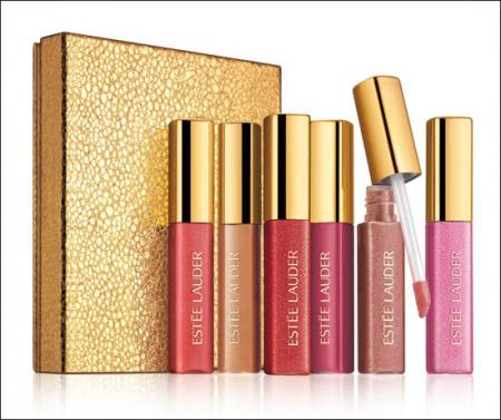 Набор мини-блесков для губ Pure Color Gloss Рождество 2010 от Estée Lauder