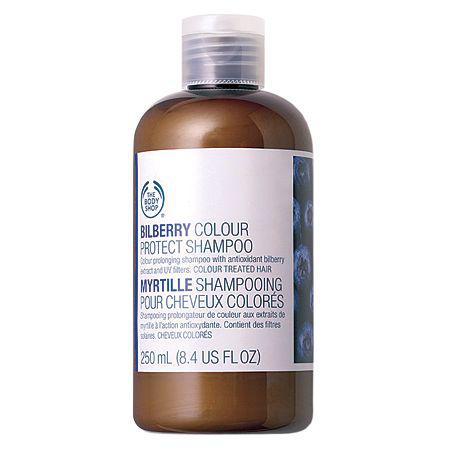 """Шампунь для окрашенных волос """"Черника"""" от The Body Shop"""