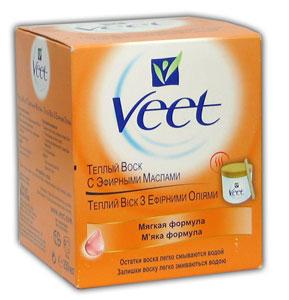 Теплый воск для депиляции от Veet (1)