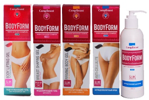 Крем для моделирования фигуры Bodyform от Compliment