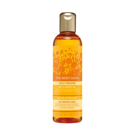 Гель для душа Jolly Orange Bath & Shower Gel от The Body Shop