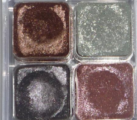 Тени для век Shimmer Cubes Palette от The Body Shop
