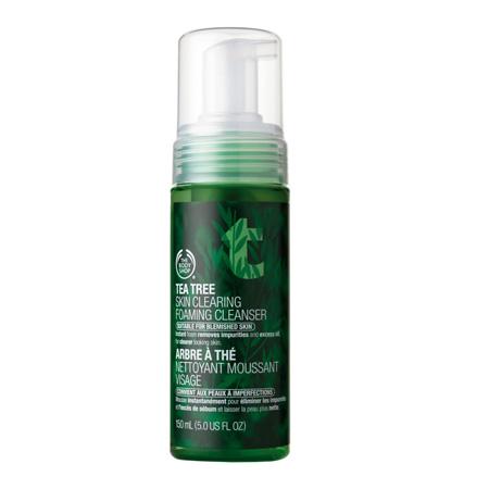 Пенка для умывания Tea Tree Skin Clearing Foaming Cleanser от The Body Shop