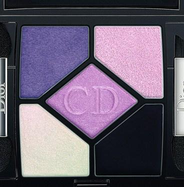 Пятицветная палитра для глaз 5-Colour Designer Eyeshadow Pink Design от Dior
