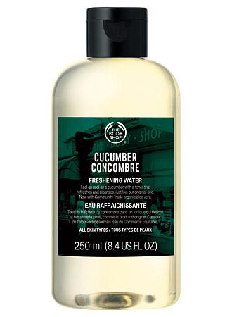 Тоник для лица Cucumber freshening water от The Body Shop