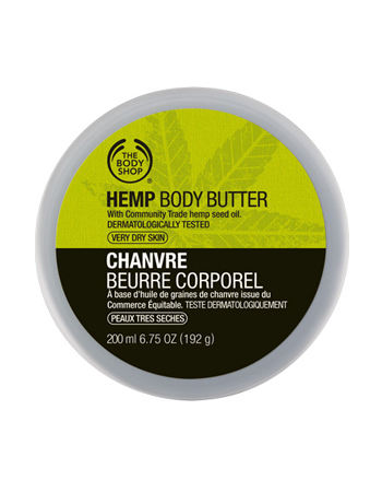 Крем для тела Hemp Body Butter от The Body Shop
