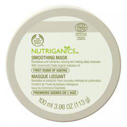 Разглаживающая маска для лица Nutriganics от The Body Shop