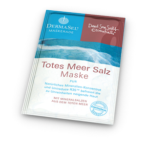 Маска для лица Dead sea salt malt от Dermasel