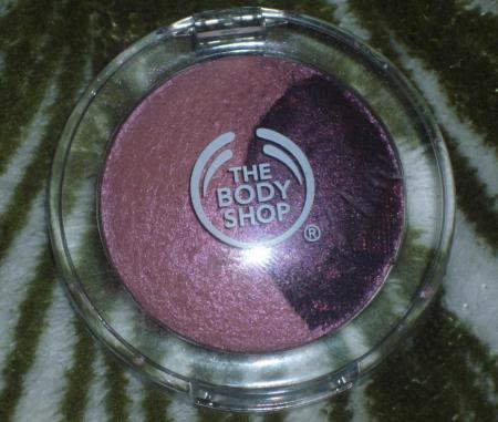 Минеральные запеченные тени от The Body Shop