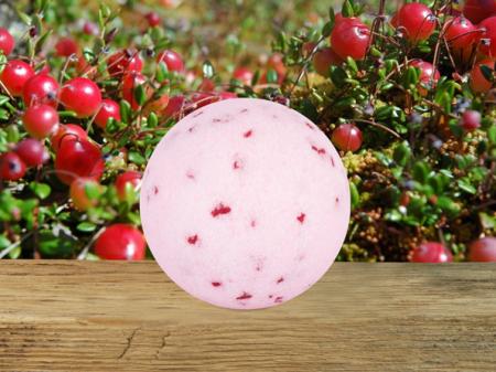 Клюквенный бурлящий шар для ванны от Stenders