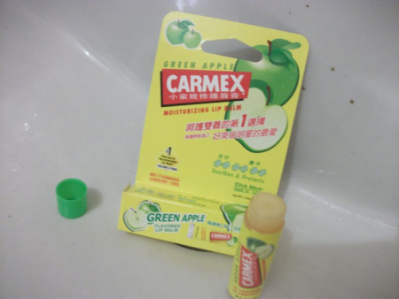 Бальзам для губ Green Apple от Carmex