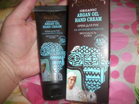 """Крем для рук """"Молодость кожи"""" с аргановым маслом от Planeta Organica"""