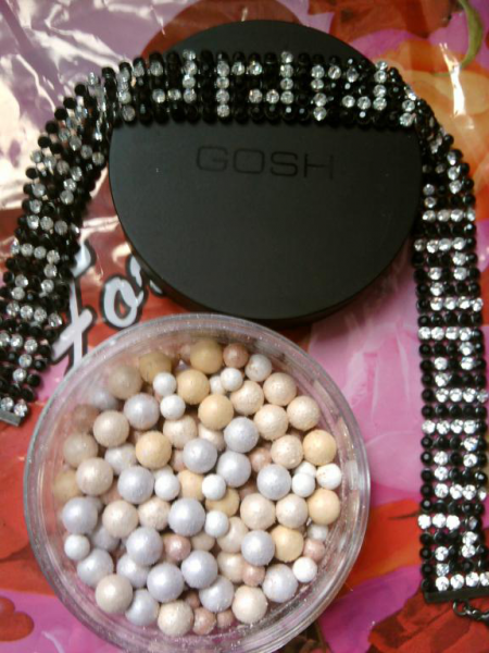 Пудра в жемчужинах «PEARLS MAGIC» от GOSH