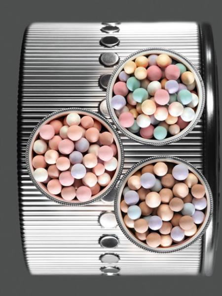 Пудра Meteorites Pearls (оттенок 02 Teint Beige) от Guerlain