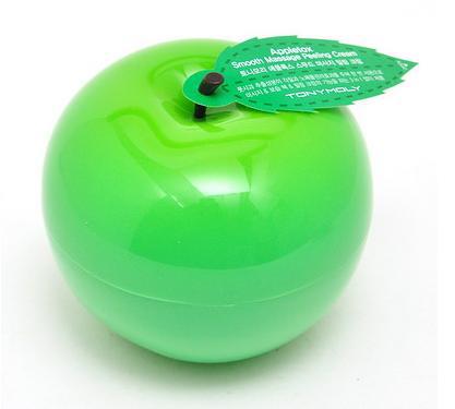 Пилинг-скатка для лица Appletox Smooth Massage Peeling Cream Pack от Tony Moly