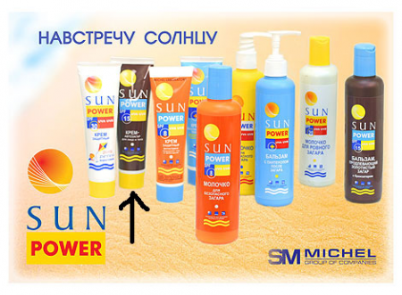 Крем-автозагар для лица и тела Sun Power  SPF 15 от Michel Laboratory