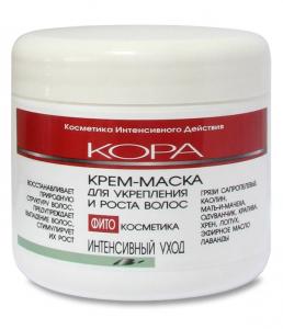 Крем-маска для укрепления и роста волос от КОРА (1)
