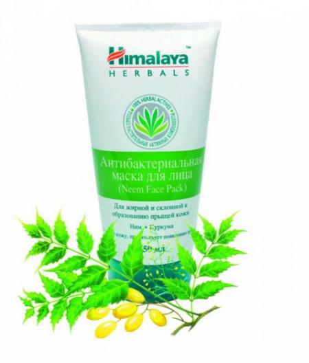 Антибактериальная маска для лица с нимом от Himalaya Herbals