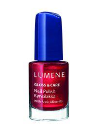 Лак для ногтей с минеральным комплексом Gloss & Care (оттенок № 5 Клюквенный) от Lumene