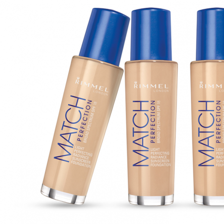 Тональный крем Match Perfection Light Perfecting Radiance foundation (оттенок № 100 Ivory) от Rimmel