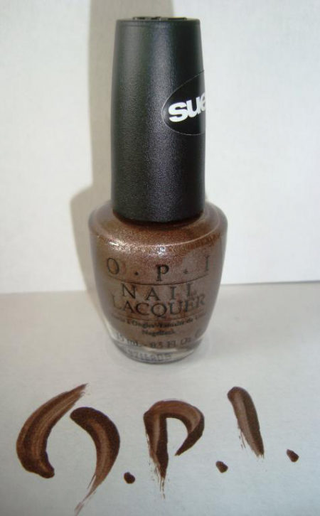 """Лак для ногтей из """"замшевой"""" коллекции SUEDE NN F15 - You Don't Know Jacques! от OPI"""