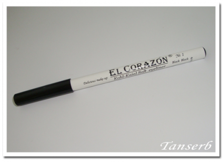 Карандаш-каял Kohl-Kaial Soft eyeliner (оттенок № 1 Black) от El Corazon