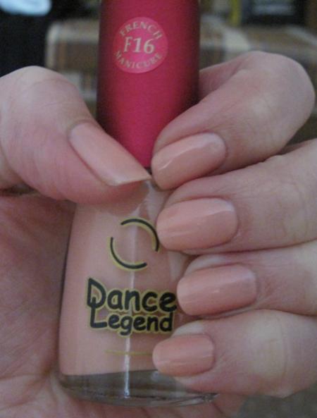 Лак для ногтей, тон F16 от Dance Legend