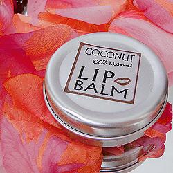 Органический кокосовый бальзам для губ от Morya