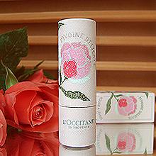 Помада для губ «Pivoine Délicate Lipstick» от L'Occitane