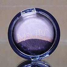 Стойкие тени для век «Tre» (оттенок № 123 Темный шоколад) от Nouba