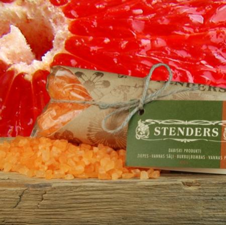 Грейпфрутовая соль для ванн от Stenders