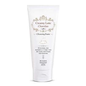 Очищающая пенка для лица «Strawberry Creamy Latte Cleansing Foam» от Missha