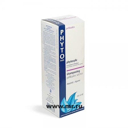 Шампунь для лечения сухой перхоти PHYTOSYLIC от Phyto