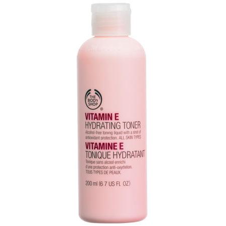 Увлажняющий тоник Витамин Е от The Body Shop