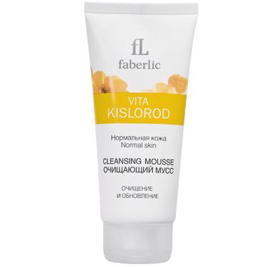 Очищающий мусс для нормальной кожи Vita kislorod от Faberlic