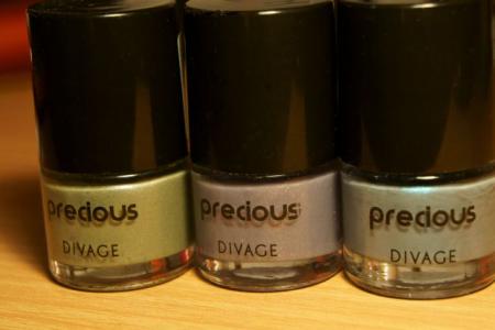 Лак для ногтей Precious (№ 4602, 4603, 4606) от Divage