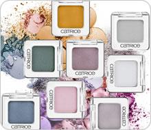 Тени для век Absolute Eye Colour Mono (оттенки № 140, № 400, № 500) от Catrice