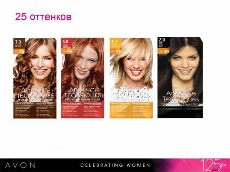 Краска для волос Advance Techniques от Avon